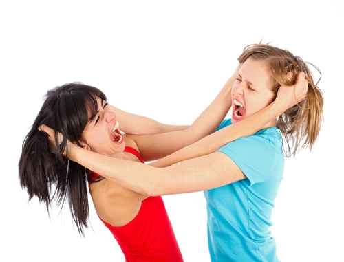 Image result for teenage sisters fighting