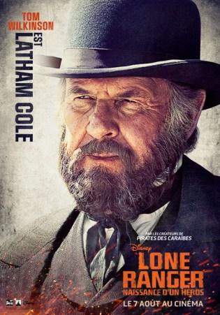 Lone Ranger - Affiche Tom Wilkinson