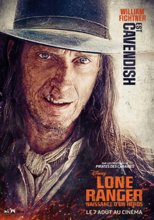 Lone Ranger - Affiche William Fichtner