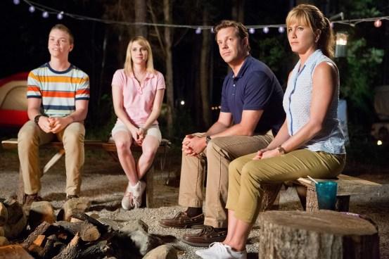 Les Miller, une famille en herbe - Photo Emma Roberts, Jason Sudeikis, Jennifer Aniston, Will Poulter