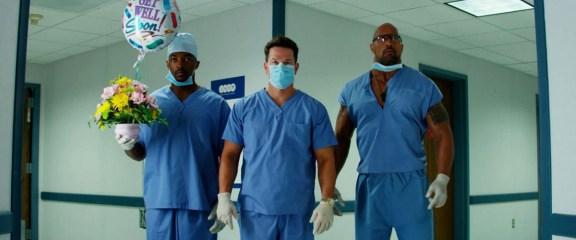 No Pain No Gain - Photo Anthony Mackie, Dwayne Johnson, Mark Wahlberg