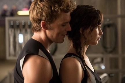 Hunger Games - L'embrasement - Photo Jennifer Lawrence, Sam Claflin