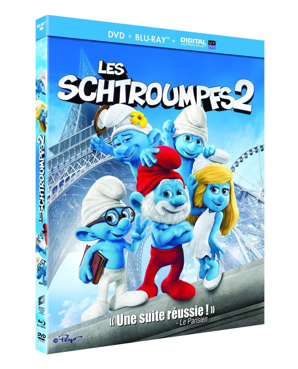 LES SCHTROUMPFS 2_3D_BD+DVD DEF