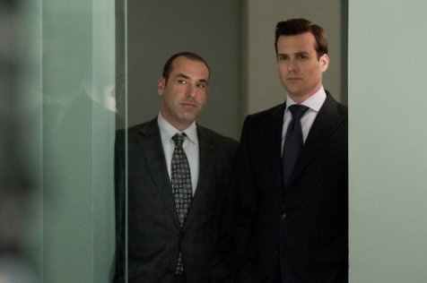 Suits Photo Gabriel Macht, Rick Hoffman