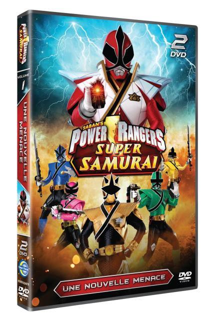 Les Powers rangers Super Samurai- Une nouvelle menace DVD