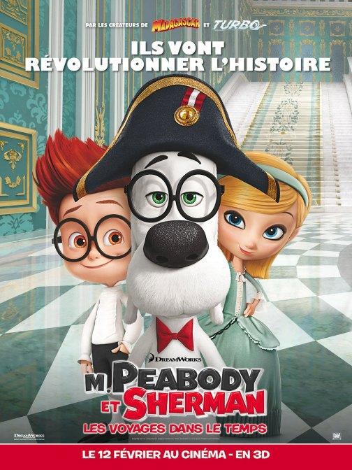 M. Peabody et Sherman - Les Voyages dans le temps - Affiche