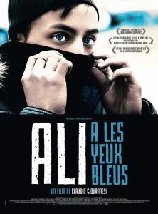Ali a les yeux bleus - Affiche