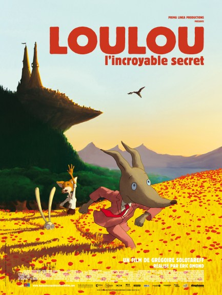 Loulou, l'incroyable secret - Affiche