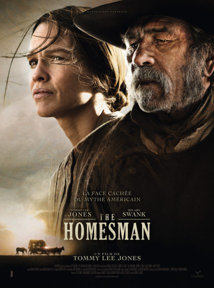 The Homesman - Affiche Tommy Lee Jones