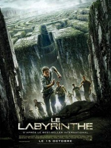 Affiche Le labyrinthe The Maze Runner
