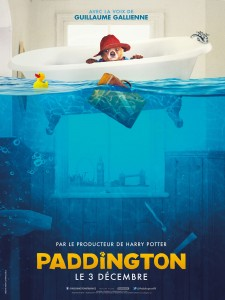 Paddington Baignoire - Affiche