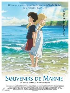 Souvenirs de Marnie - Affiche