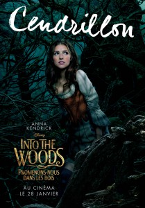 Affiche Cendrillon Into The Woods