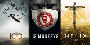 Soiree Super Tuesday The 100- 12 Monkeys-Helix
