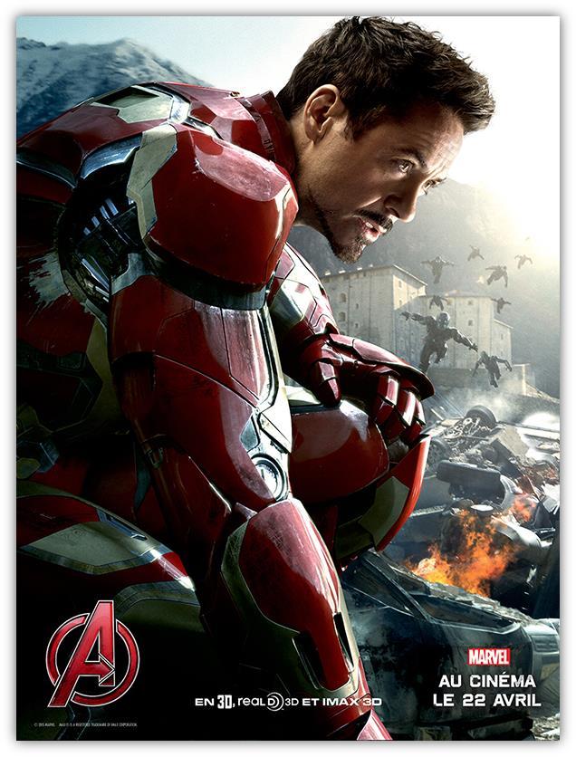 Avengers 2 Affiche Iron Man