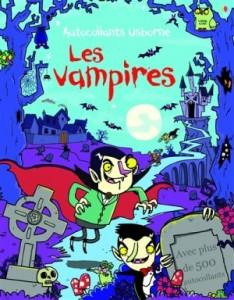 Autocollants Les Vampires Usborne