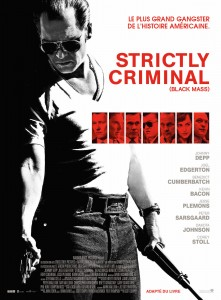 Affiche Strictly Criminal Johhny Depp