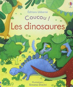 coucou dinosaures editions usborne