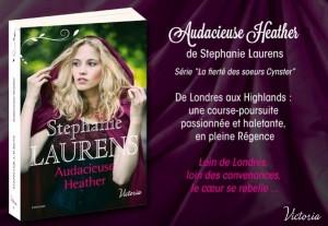 Audacieuse Heather de Stephanie Laurens