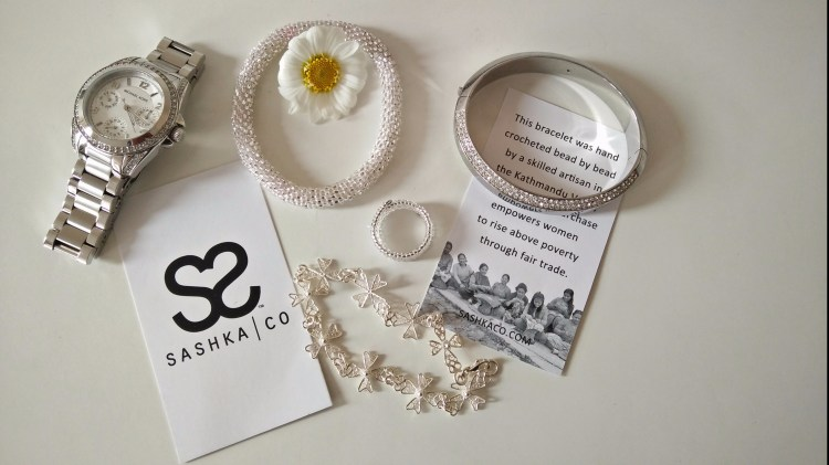 Sashka Bracelet in silver. Sashka Bracelets. New Labels Only
