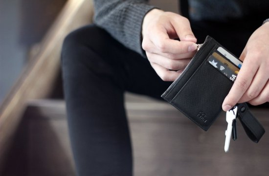 Co. Men. New Labels Only. Minimalistic Wallet