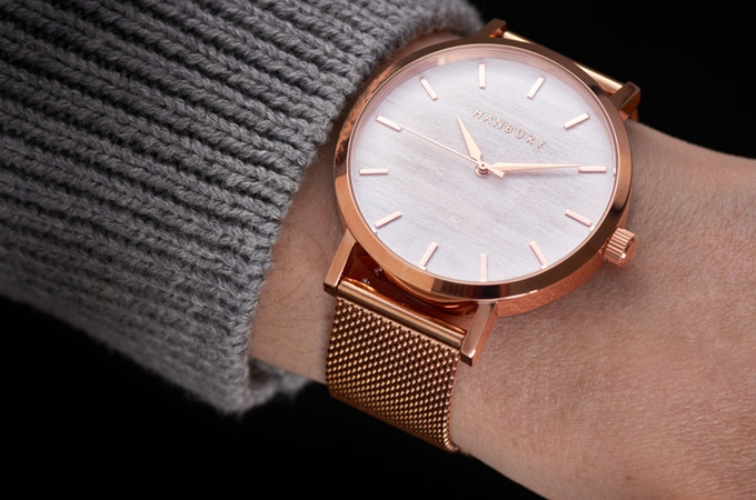 Hanbury Watch in Gold. New Labels Only
