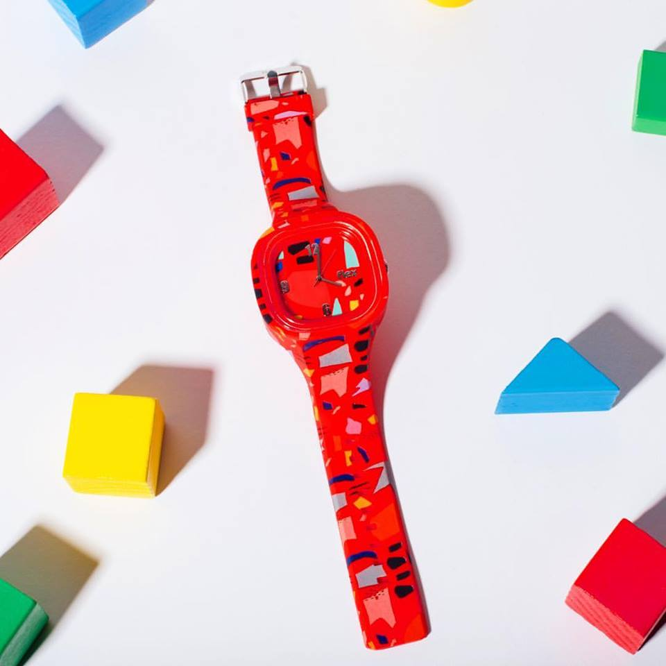 Flex Watches. New Labels Only. Red