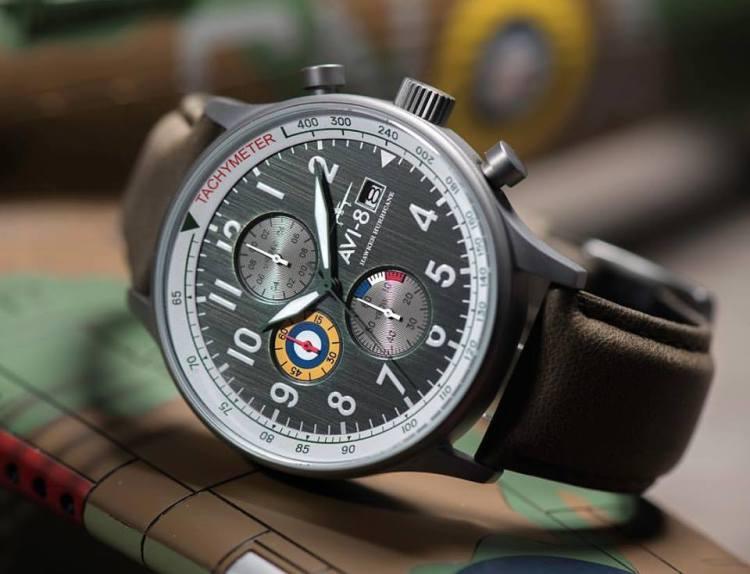 AVI 8 Hurricane Hawker. AV 4011 OG. New Labels Only. Review. Best Watch under 200