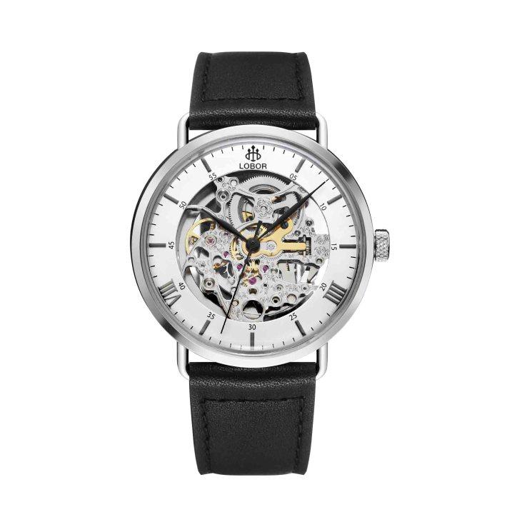 Lobor Automatic skeleton watches. Planetarium-Hockney-1