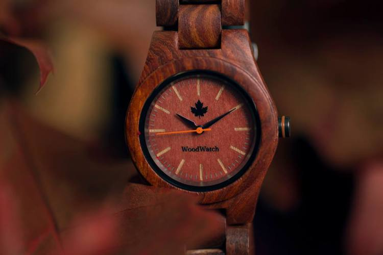 Woodwatch CORE Red Sandalwood watch