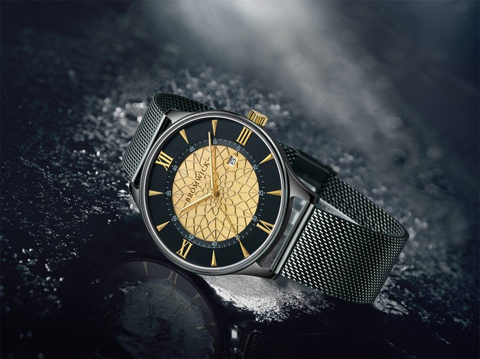 Bromwick Watches tower series gold. Valentine's Day Gift from him
