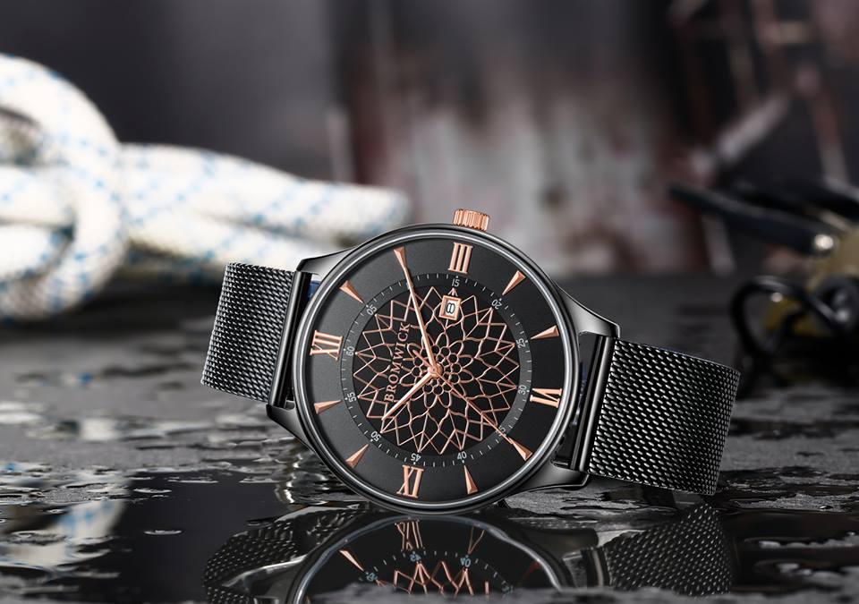 Bromwick Watches tower. valentine's day gift for him
