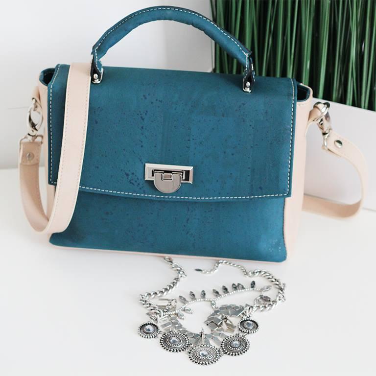 Cork handbag Rokcork 11