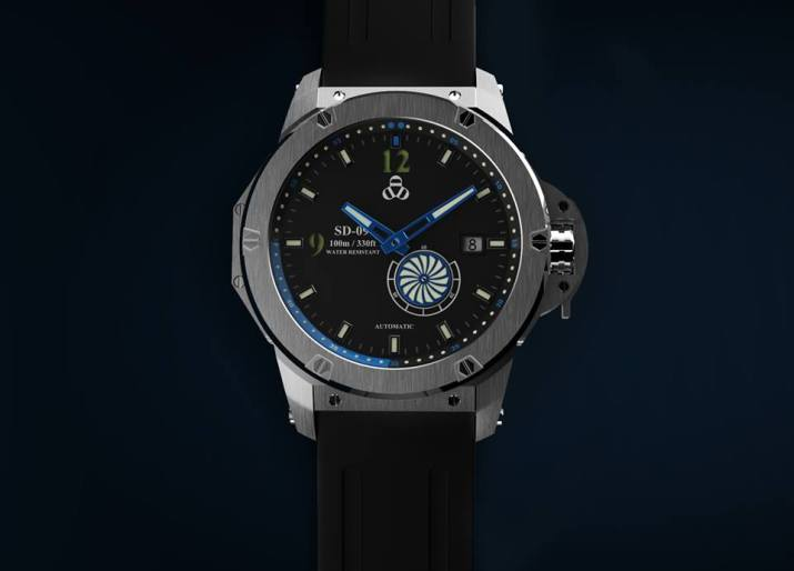 SD-09 Watches Rotating disk