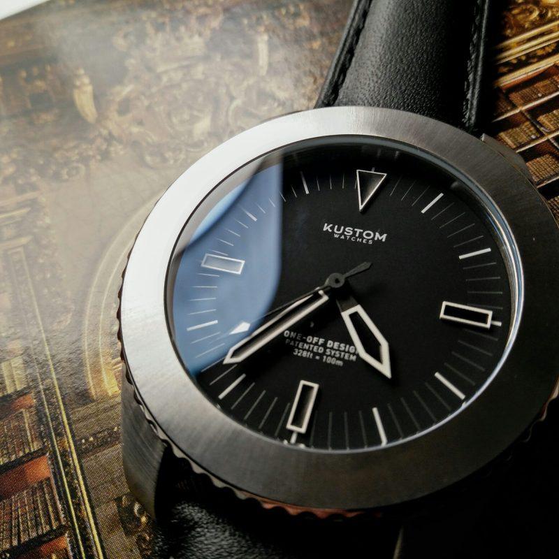 Kustom watches silver