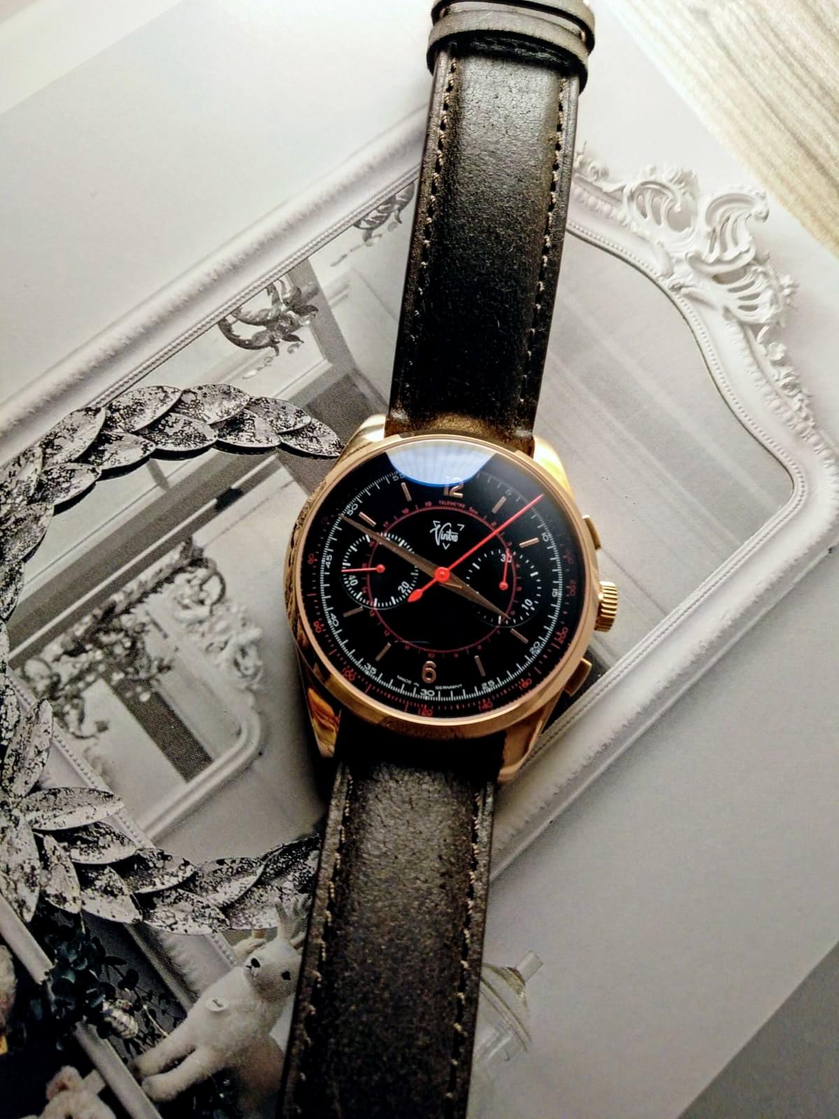 Rose Gold Le Mans 1952 Chronograph