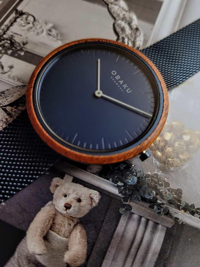 Wood Watch Obaku