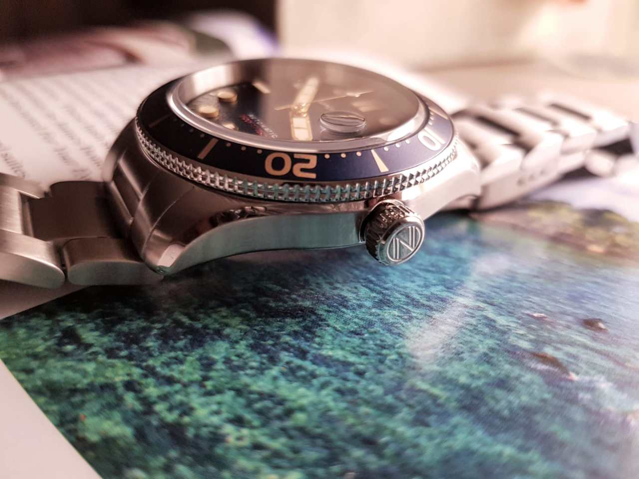 Spinnaker Watches Croft Mid-Size Crown