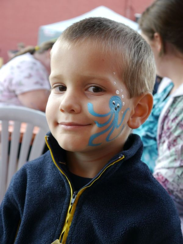 Local Face Painter Continues Loyalty Kids Of Lafayette