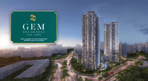 Gem Residences Artist Impression
