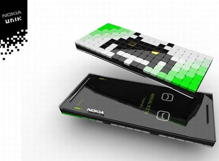 Nokia Unik Concept Phone - Conceito: celular Nokia Unik