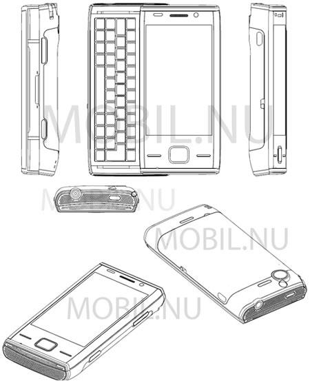 Sony Ericsson Xperia X2 Blueprints leaked