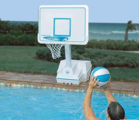 The Superior Pool Basketball Set