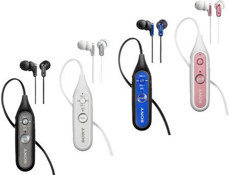 Sony announces Bluetooth headphones and earphones