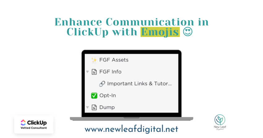 Enhance Communication in ClickUp with Emojis ????