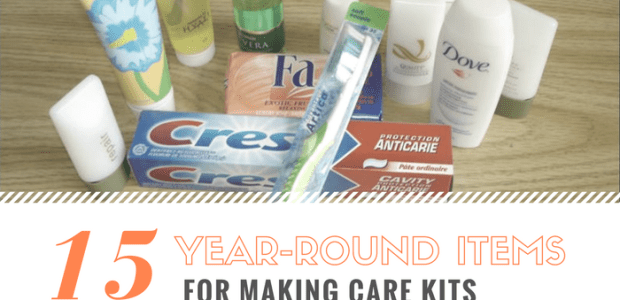 For The Homeless Tending to the needs of the homeless requires a considerable supply of personal hygiene items: toothpaste, toothbrush, deodorant, shampoo, disposable razors, etc. These are year-round needs which require substantial resources. Care Kits are used as welcome bags […]