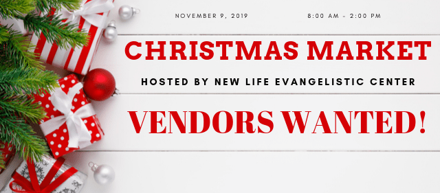 If you are a vendor – WE WANT YOU!!!