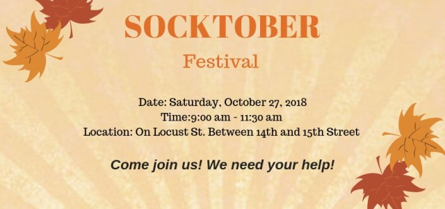 The Socktober Festival is New Life Evangelistic Center's kick-off to help the homeless prepare for colder weather. Come and join us as we give away care-kits, winter wear, blankets, sleeping bags and more to the homeless!