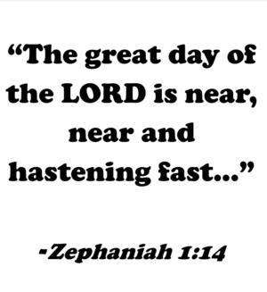 """Good to Go"" * Zephaniah 1:7-16 * 11.19.17"