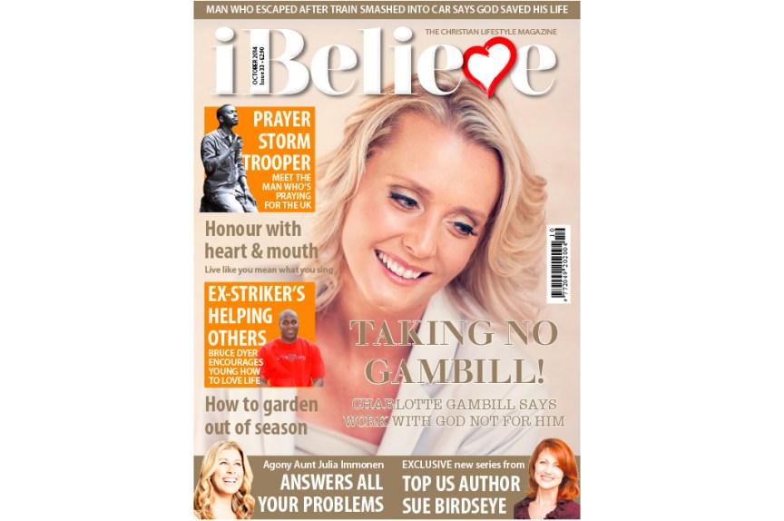 iBelieve Magazine October 2014 cover